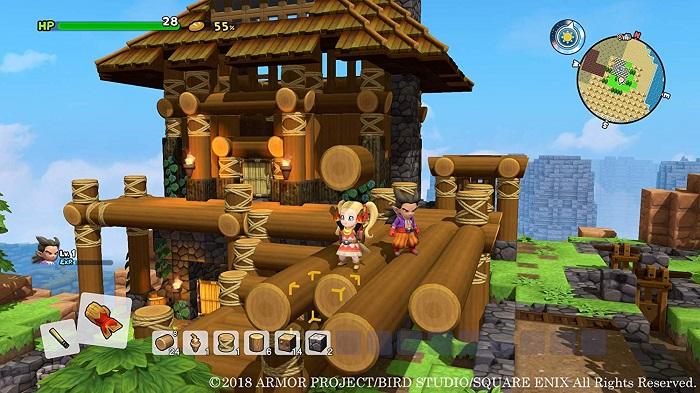 ドラゴンクエストビルダーズ2ゲーム画像
