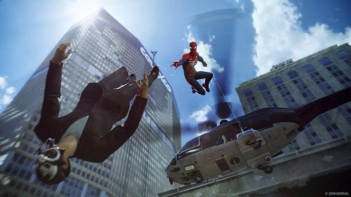 マーベルスパイダーマンゲーム画像