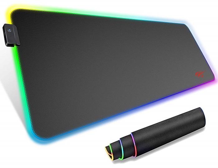 HAVIT RGB ゲーミングマウスパッド