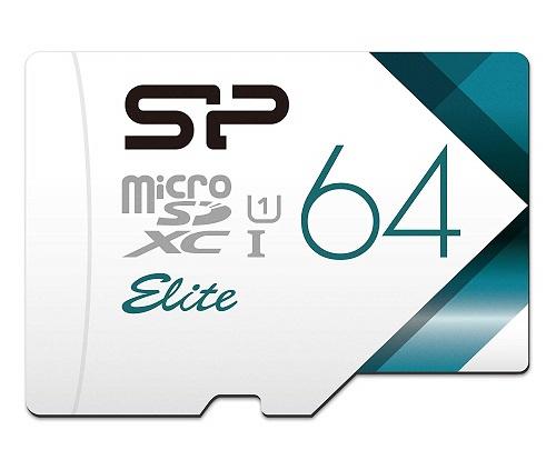 シリコンパワーmicroSDカード64GB
