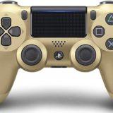 PS4コントローラーゴールド