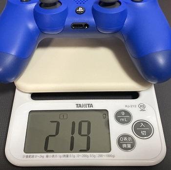 PS4コントローラー重さ