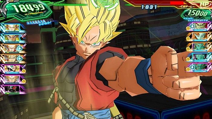 スーパードラゴンボールヒーローズ ワールドミッションゲーム画像