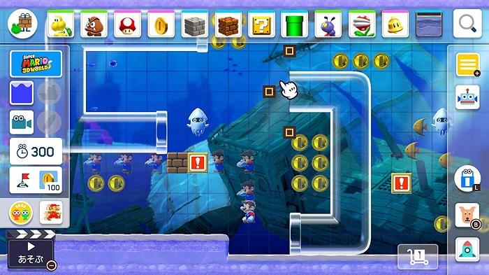 スーパーマリオメーカー2ゲーム画像