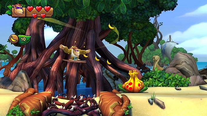 ドンキーコング トロピカルフリーズゲーム画像