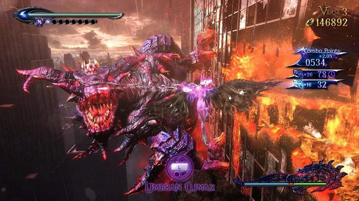ベヨネッタ2ゲーム画像