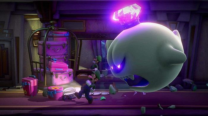 ルイージマンション3ゲーム画像