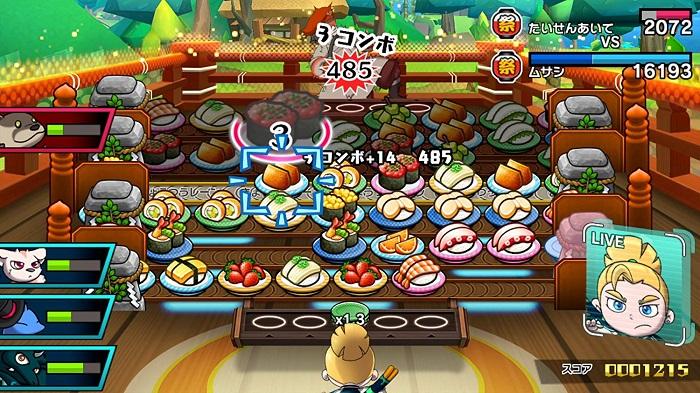 超回転 寿司ストライカー The Way of Sushidoゲーム画像