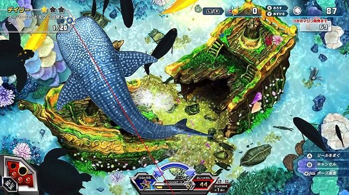 釣りスピリッツ switchゲーム画像