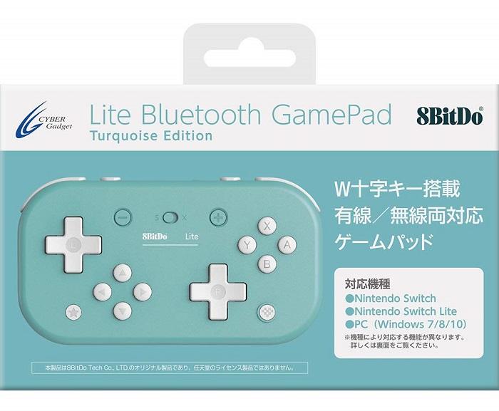 8BitDo Lite Bluetooth Gamepad日本語パッケージ