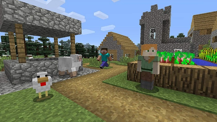 Minecraftゲーム画像