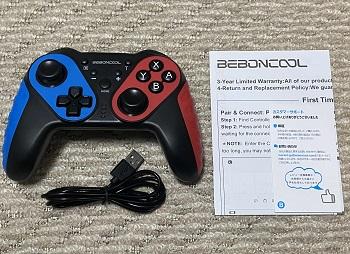 BEBONCOOL NFC搭載スイッチコントローラーセット内容