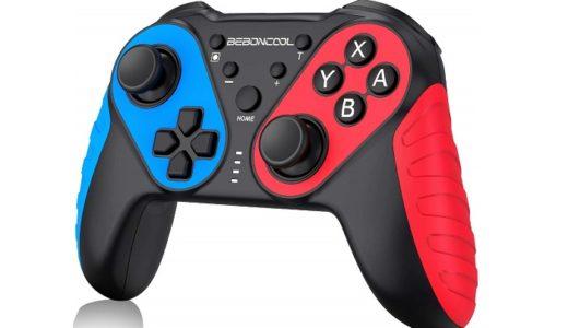 【BEBONCOOL NFC機能搭載スイッチコントローラーをレビュー】Switchカラーの軽くて使いやすいベーシックコントローラー