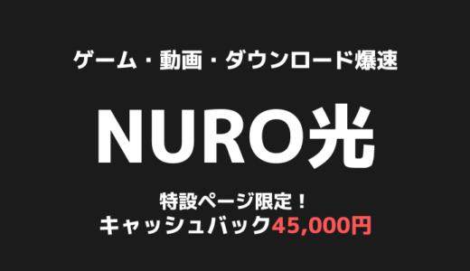 ゲーマーに大人気の光回線「NURO光」|北海道でもサービス提供開始