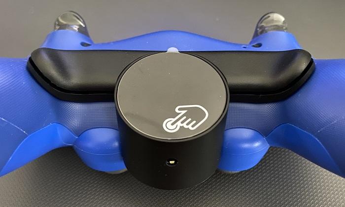 PS4背面ボタンアタッチメントボタン位置