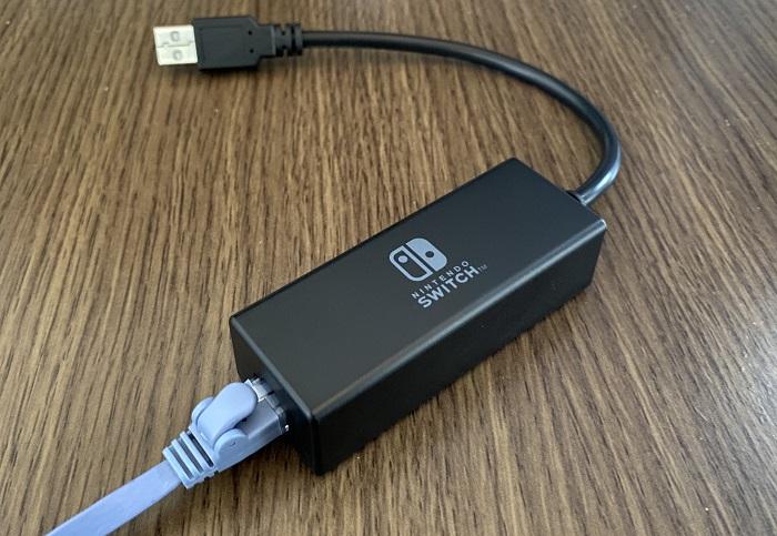 SwitchのLANアダプター