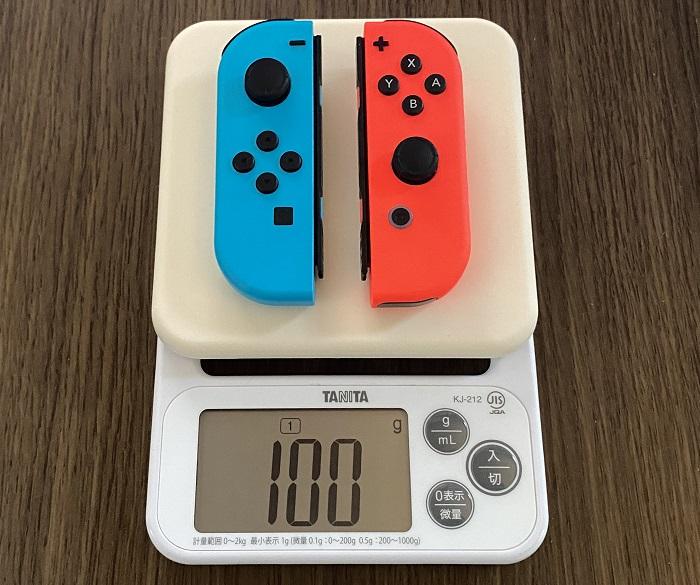 Switch Joy-Conの重さ