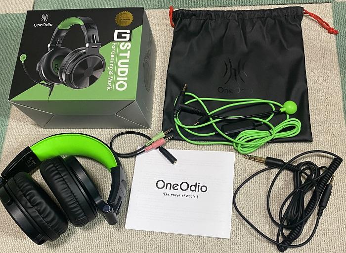 OneOdio Pro-Gセット内容