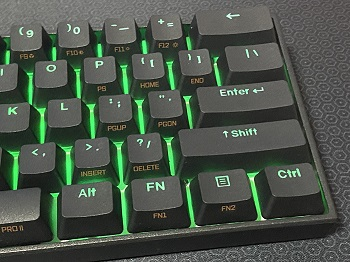 ANNE PRO 2バッグライト緑