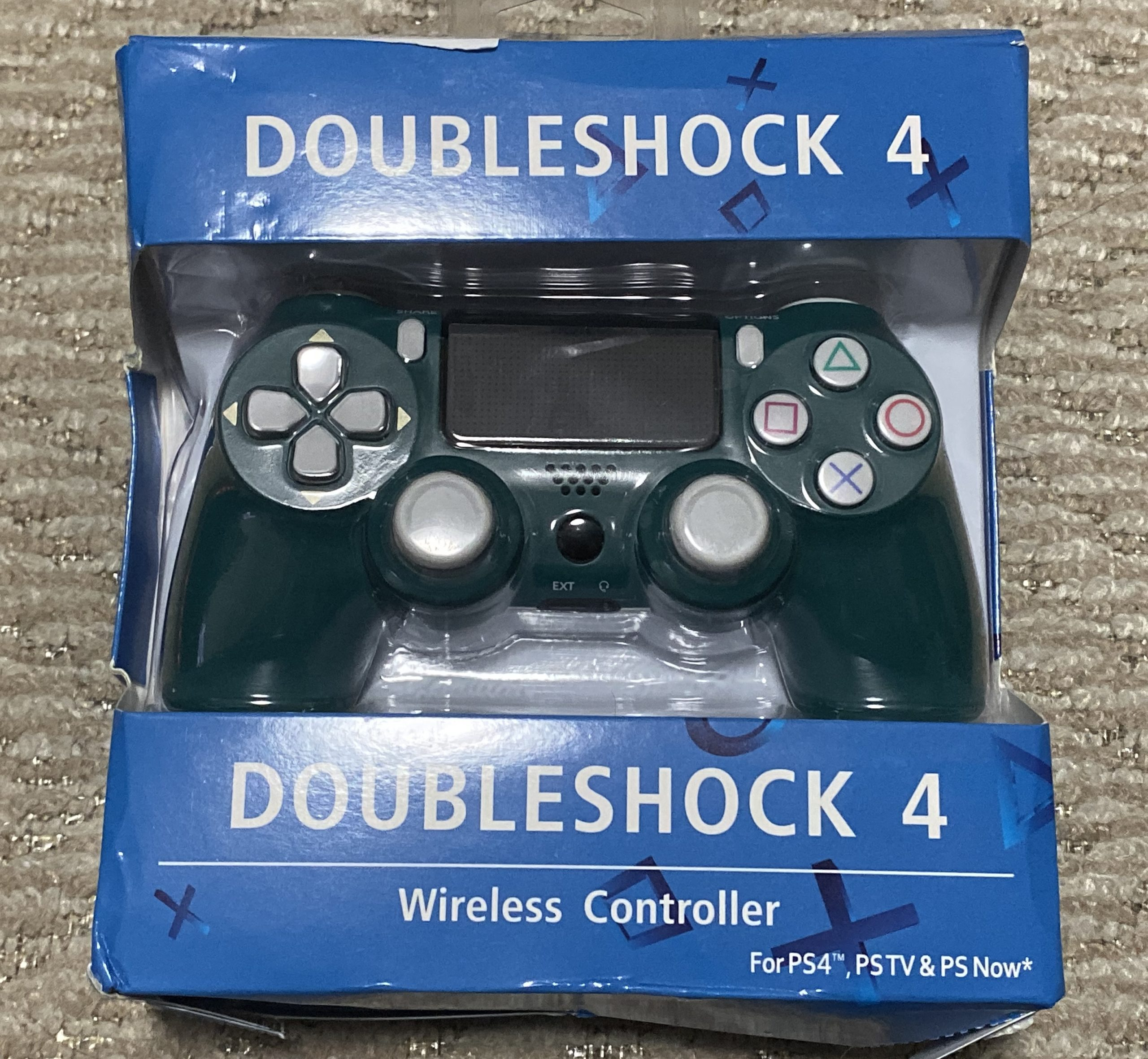 PS4コントローラーOEMアルパイングリーン