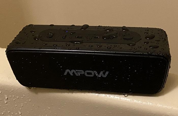 MPOW R6 完全防水テスト