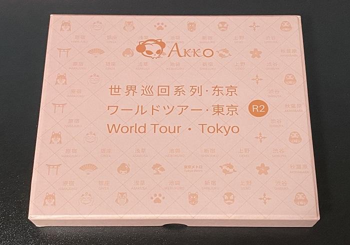 Akko World Tour-Tokyo R2キーキャップパッケージ