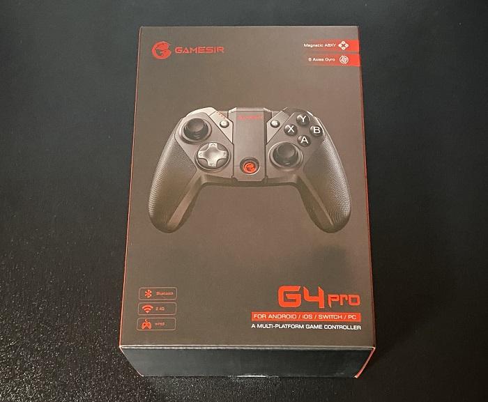 GameSir G4Pro パッケージ