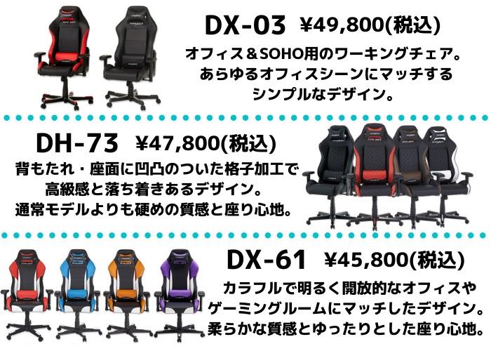 DXRACER Driftingシリーズ