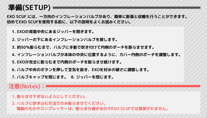EXO SCUFの準備_翻訳