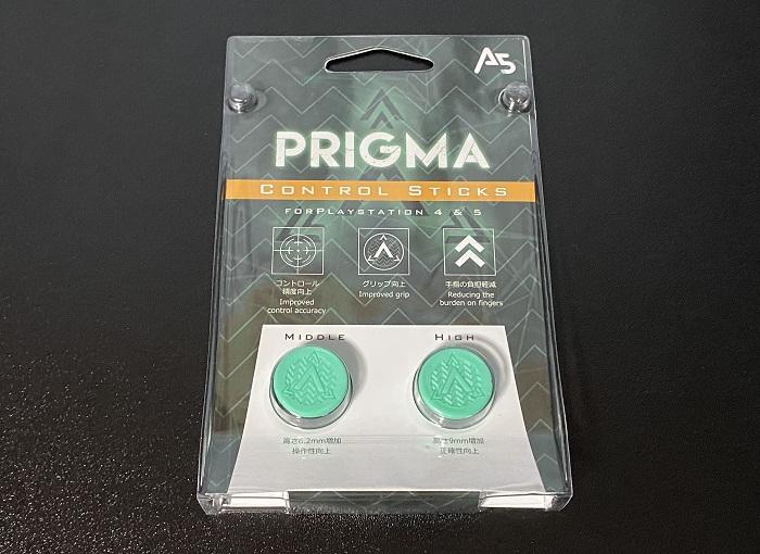 A5 PRIGMA CONTROL STICKSパッケージ