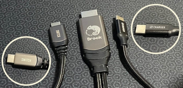 Brook Switch HDMI Cable端子紹介