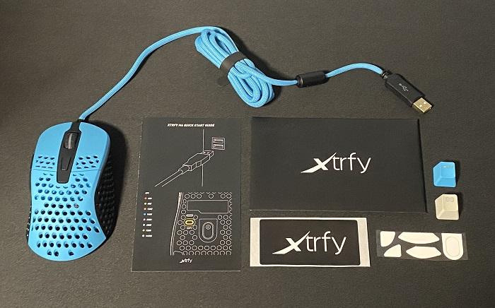xtrfy M4 セット内容