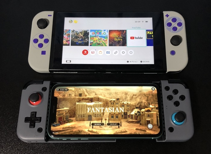 GameSir X2 Bluetooth Switch比較
