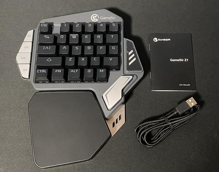GameSir Z1セット内容