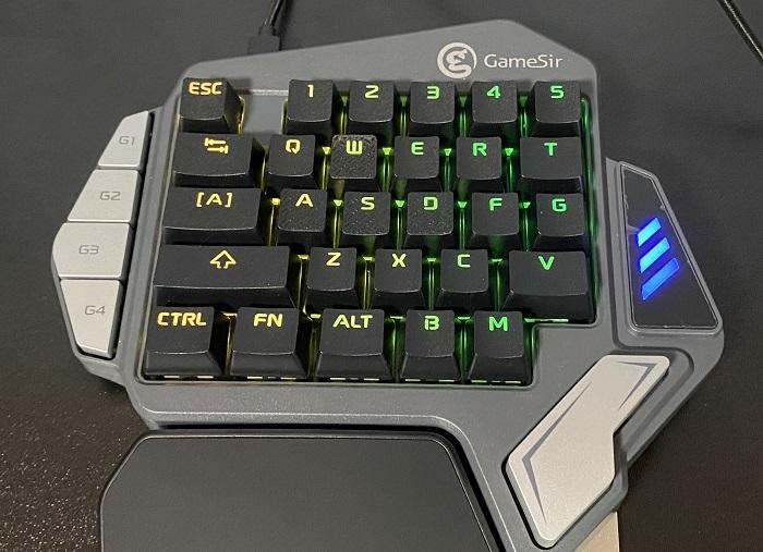 GameSir Z1 キー数